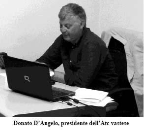 (Donato D'Angelo, presidente dell'Atc vastese)